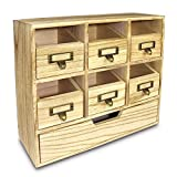 Wooden Desktop Drawers /Craft Supplies Storage Cabinet – Ikee Design