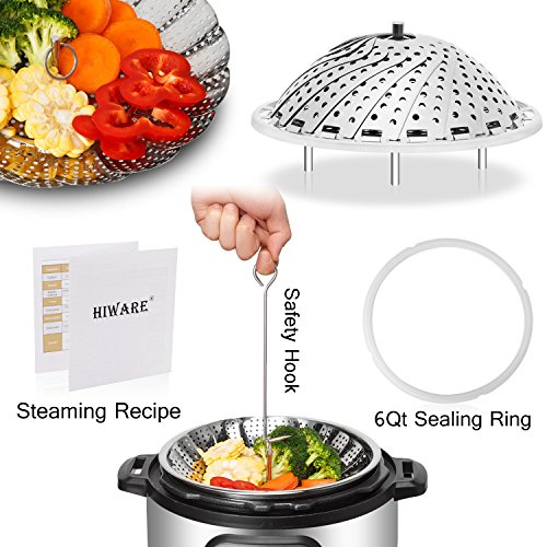 Vegetable Steamer Basket set - 4In1 - 5.5''-9.3