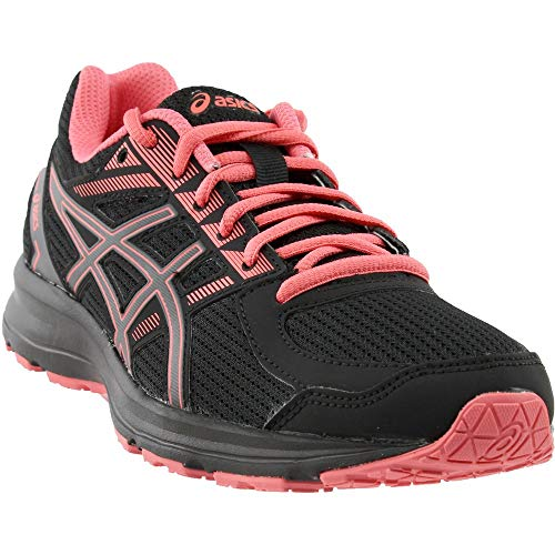 ASICS Women's Jolt Running Shoe - T7K8N.9097 (Black/Carbon/Peach - 10)