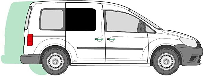 Just Kampers - Cortinas para Puerta corredera Derecha, Ventana VW Caddy y Caddy Maxi (Doble Puerta corredera o LHD): Amazon.es: Coche y moto