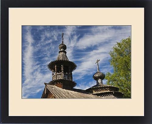 Framed Print of Russia, Novgorod Oblast, Veliky Novgorod, Vitoslavitsky Museum of Wooden by Fine Art Storehouse