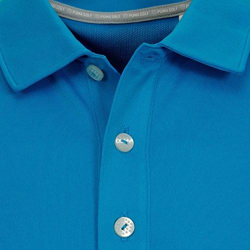 Puma Herren Polo ESS Pounce Col. blue danube, Size L (52/54), Mod. 570462 19