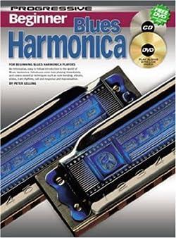 CP69162 - Progressive Beginner Blues Harmonica - Book/CD/DVD