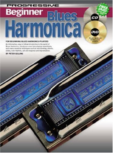 Harmonica Progressive (CP69162 - Progressive Beginner Blues Harmonica - Book/CD/DVD)