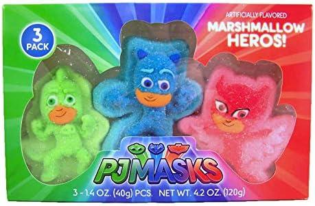 Máscaras de Disney PJ con forma de mariscos Heros, 11,4 ml ...