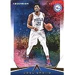 bc72c4f6f 2017-18 Panini Ascension  64 Joel Embiid Philadelphia 76ers Basketball Card