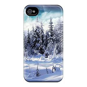 Mbsky TAo1115YJSb Case For iphone 6 With Nice Snow Forest Appearance