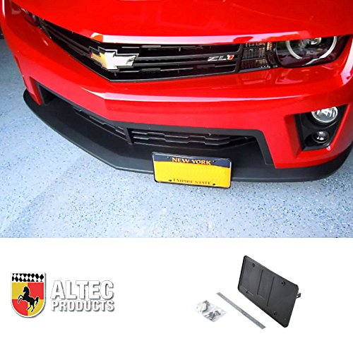 Retractable License Plate (Camaro Front Retractable Manual License Plate Altec Show N' Go Kit Fits: All Camaros)