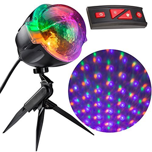 (Gemmy Light Show Points of Light Halloween Projector with Wireless)