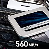 Crucial MX500 500GB 3D NAND SATA 2.5 Inch Internal