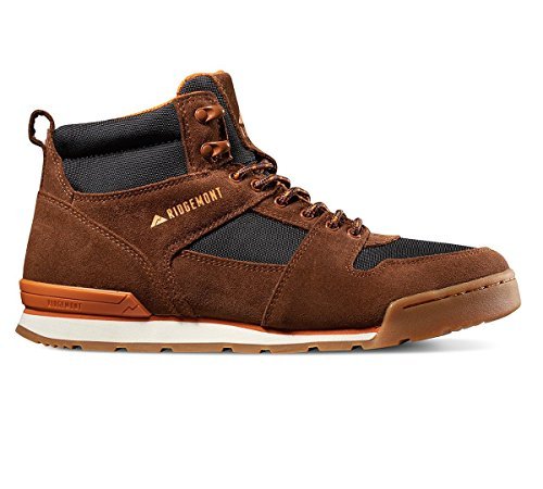 RIDGEMONT Monty Hi Oiled Suede Walking and Hiking Boots - Ideal for Trails and (Suede Oiled Boots)