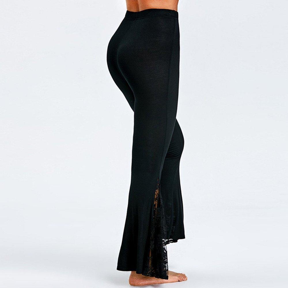 a452d903118f Youngii Pantalon Femme Taille Haute Chic Leggings Femme Sexy