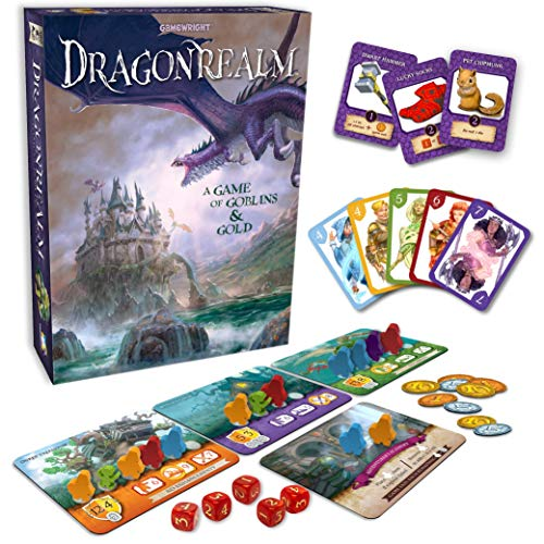 Gamewright Dragonrealm - A Game of Goblins & Gold - http://coolthings.us