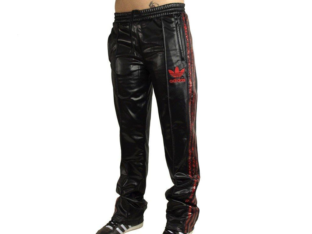 Damen Hose 62 Chile Firebird Rot Pailletten Adidas Schwarz Tp qfAIFaqd