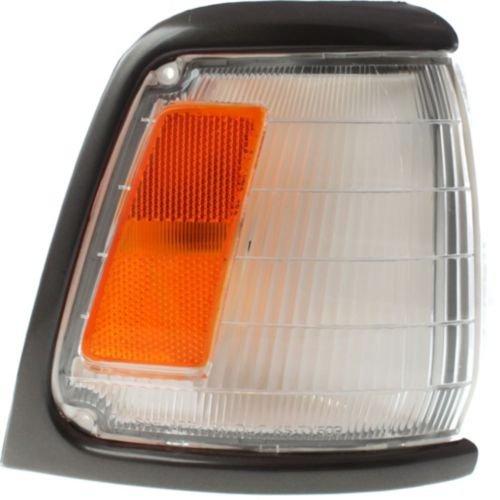 MAPM Premium FOR TOYOTA PICKUP 89-91 CORNER LAMP RH, Assembly, w/Gray Trim, 2WD, DLX/SR5 Models Make Auto Parts Manufacturing