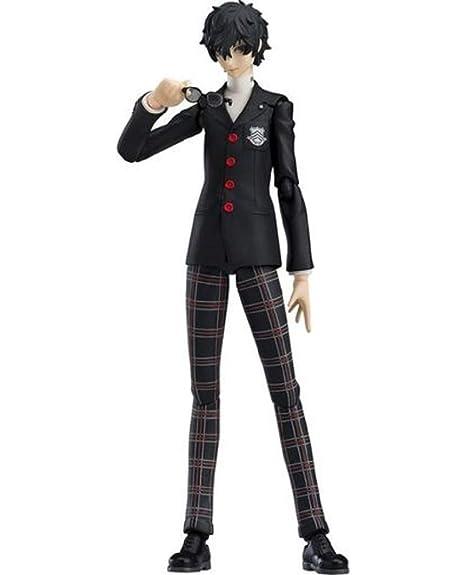 Persona 5 Hero Protagonist Joker School Uniform Ver  Figma Character Figure  Statue