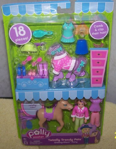 (Polly Pocket *Groovy-Glam Pets*Totally Trendy Pets)