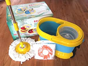 Deluxe Spin Mop (Blue)