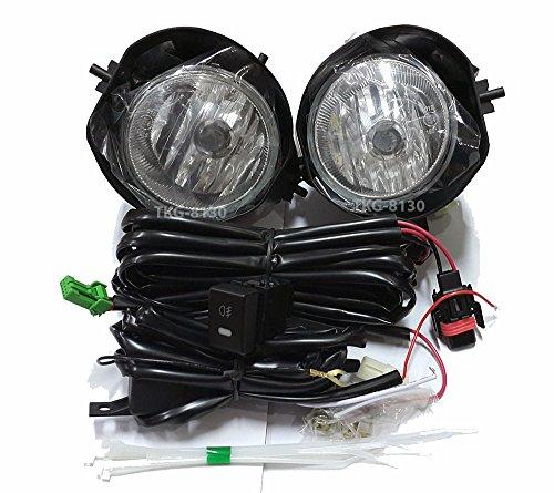 K1AutoParts Spot Fog Light Lamp Kit For (2WD) Isuzu Dmax D-max Pickup 2016 2017 2018