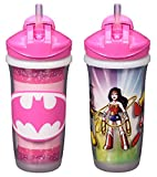 Best Sippy Cups With Straws - Playtex Sipsters Stage 3 Super Friends Spill-Proof, Leak-Proof Review
