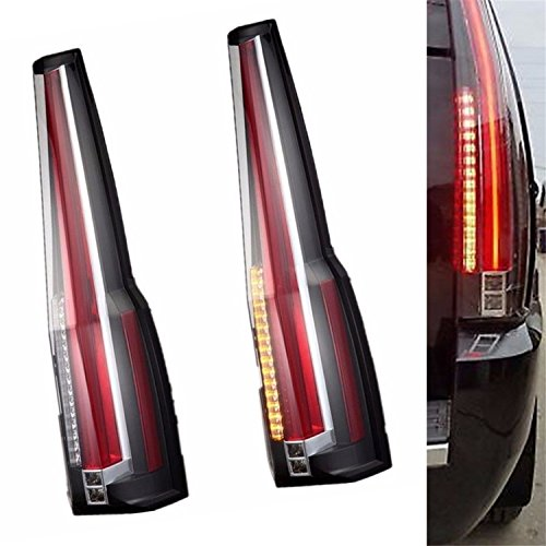 JDMSPEED New LED Tail Lights For Cadillac Escalade 2007-2014 Rear Lamp 2016  Model Assembly