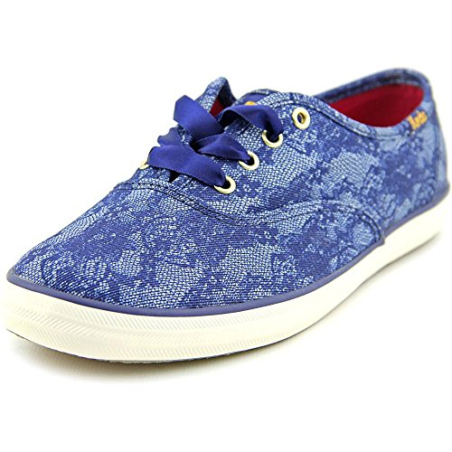 Keds-ch Denim / Lace Women Us 8.5 Blue Sneakers