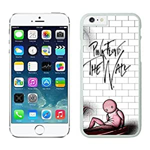 NEW DIY Unique Designed Case For iphone 6 plus Pink Floyd The Wall iphone 6 plus White 5.5 TPU inch Phone Case 352