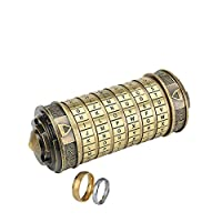 wyhweilong Password Code Cylinder Mini Cryptex Interesting Creative Romantic Puzzle