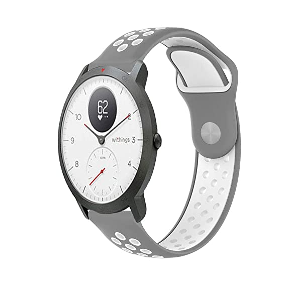 Amazon.com: Breathable Band for Nokia Withings Steel HR ...