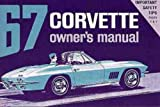 1967 Corvette Sting Ray Owner's Manual Reprint