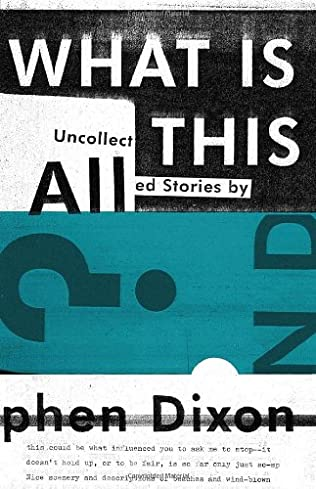 book cover of What Is All This?