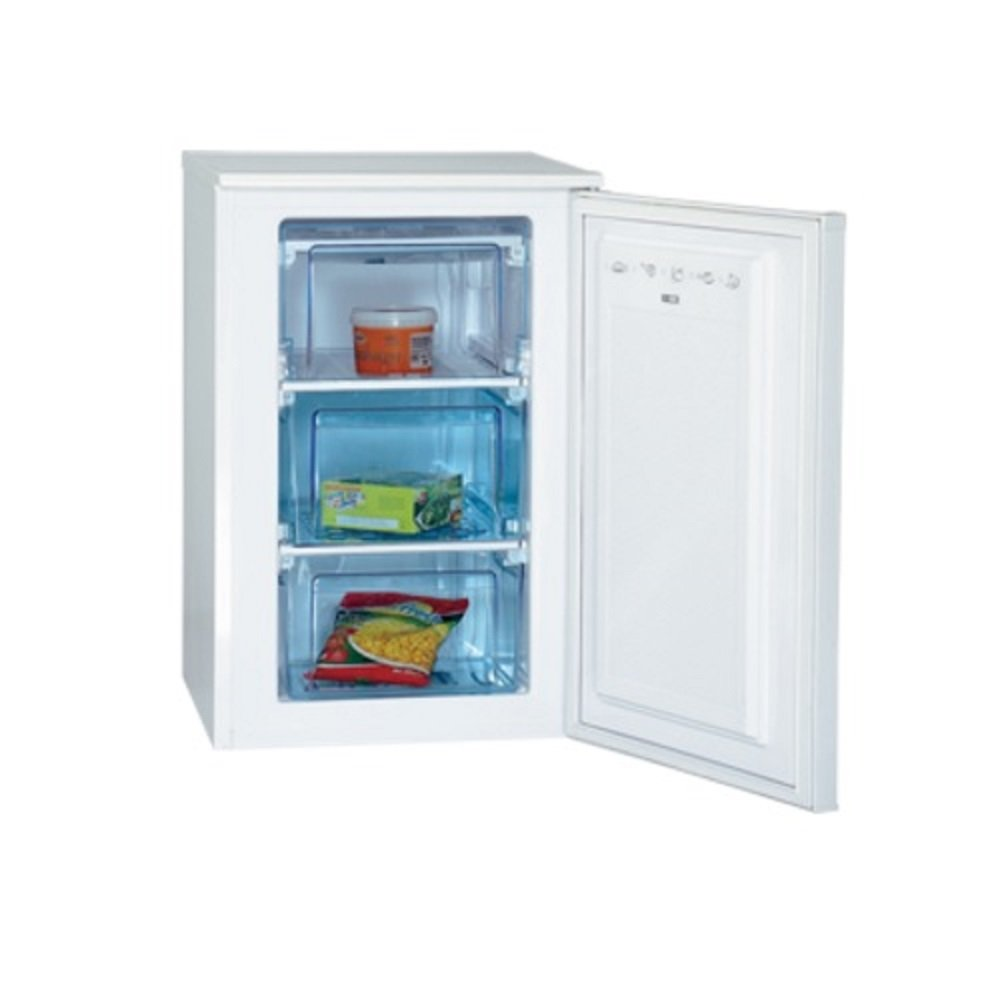 CONGELADOR VERTICAL 80LT ATLANTIC GN145 BLANCO: Amazon.es: Hogar