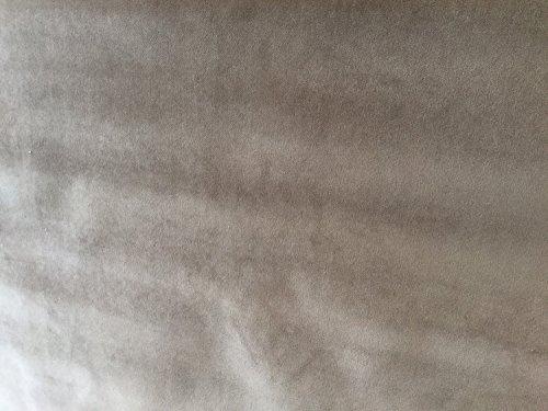 - Latte Brown Colored Velvet Upholstery Fabric