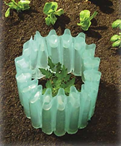 (BestNest Gardeneer Season Starter Plant Insulators, Pack of 9)