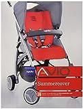 Inglesina Avio Stroller Summer Cover - White