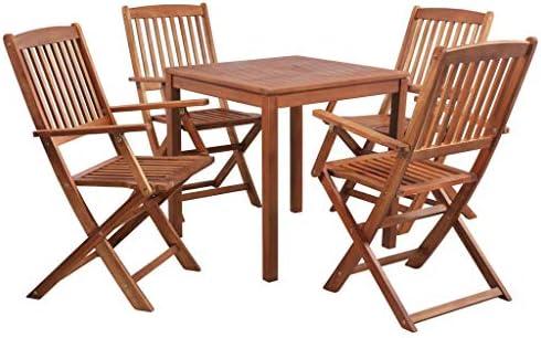 tidyard Set de Muebles de Jardín, Conjunto de Muebles de ...
