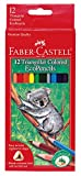 Best Creativity for Kids Boy Birthday Gifts - Faber-Castell Triangular Colored EcoPencils - 12 Count Review