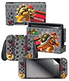 "Controller Gear Skin & Screen Protector Set, Officially Licensed – Super Mario Evergreen ""Bowser"" – Nintendo Switch Review"