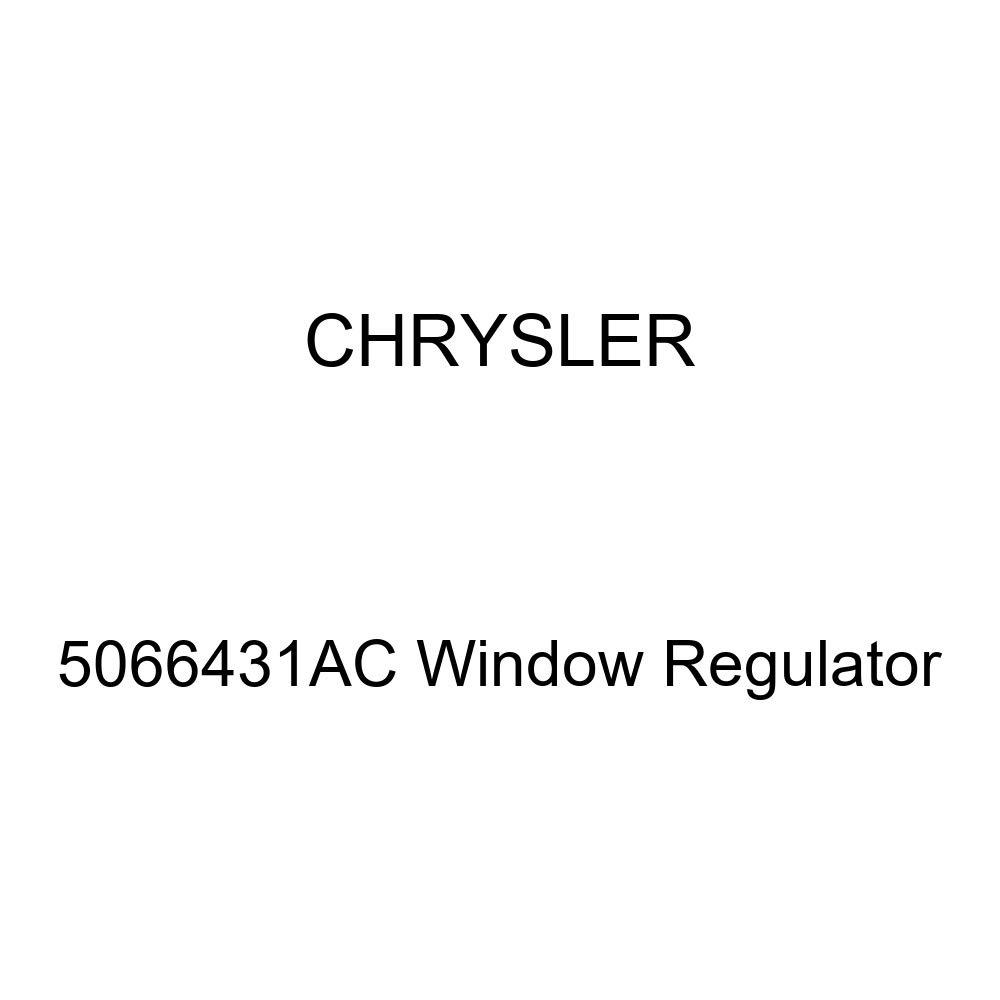 Genuine Chrysler 5066431AC Window Regulator