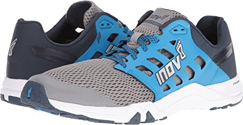 Inov-8 Men's All Train 215 Cross-Trainer Shoe, Grey/Blue/Navy, 8.5 D US