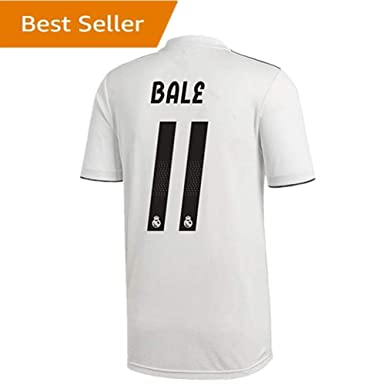 11 Bale Real Madrid Home Soccer Jersey 2018-2019 Season Mens White Size S dec059d41