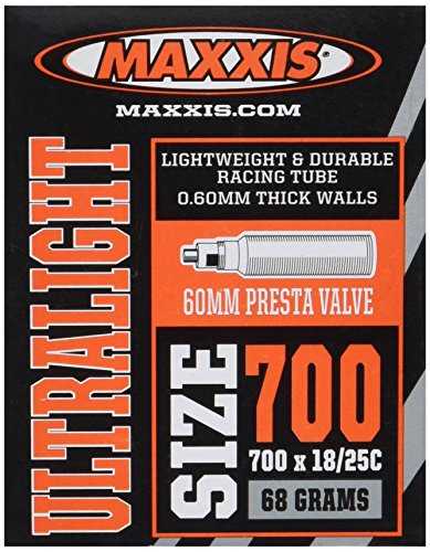 Maxxis Presta Valve 60mm Ultralight Tube (700X18-25)