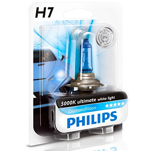 philips diamond vision h7 halogen 5000k headlight light bulb import it all. Black Bedroom Furniture Sets. Home Design Ideas