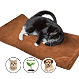 Pet Bed Mat by Easyology: Self Warming Dog Bed Crate Pad for Dogs and Cats - Small Dog Bed, Medium Dog Beds - Cat Bed with Reflective Core and Non Electric Puppy Bed (80x 44 cm)