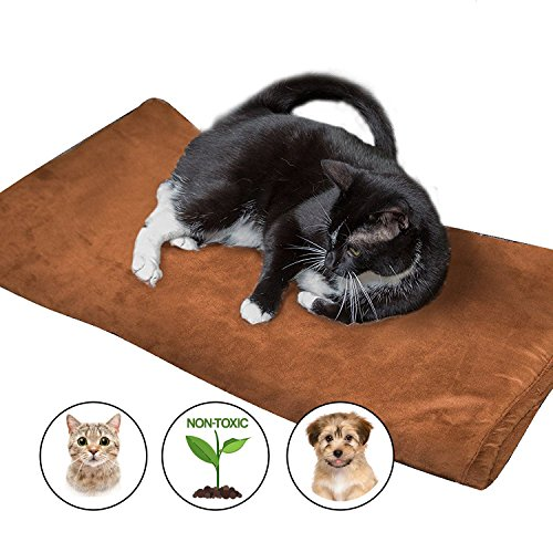 Thermal Pet Bed Mat by Easyology – Self Warming Crate Pad for Dogs and Cats – Reflective Core and Non Electric – 100% Pet Friendly