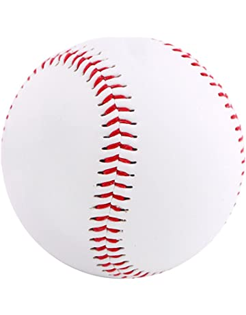 Baseball & Softball Palla Da Baseball In Pelle Ecopelle Palle Allenamento Sport Softball Bianca Team Sports