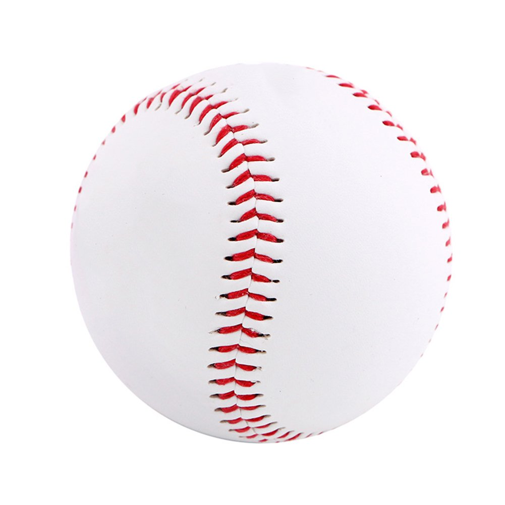 Demarkt Baseball Trainingsball Softbä lle Weicher Ball fü r Baseball Schlä ger Weiß