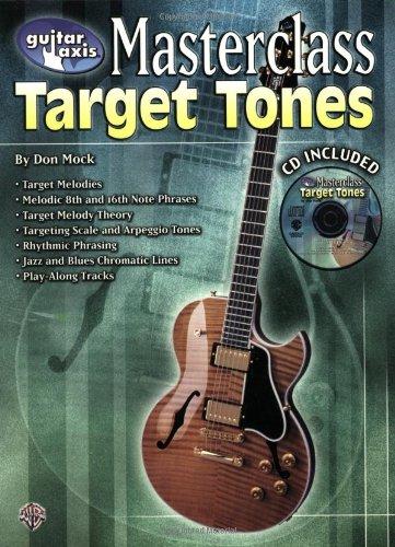 Guitar Axis Masterclass: Target Tones, Book & CD