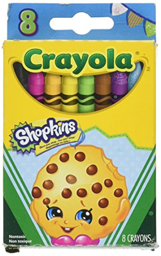 Crayola Cookie Shopkins Limited Crayons
