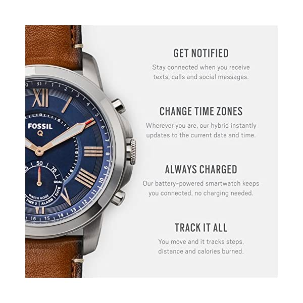 Fossil-Q-Hybrid-Smartwatch-Mens-Grant-Ocean-Blue-Stainless-Steel-FTW1140